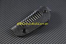 For Jaguar XJ XJS XJ6 XK8 Remote Key Leather CARBON FIBER Cover Holder S X Type