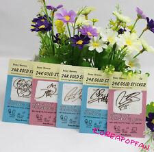 5pics set Bigbang taeyang daesung seungri g-dragon phone sticker KPOP NEW