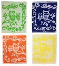 Gants de toilette de salle de bain multicolore