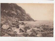 Coast At Labrador Nr Teignmouth Vintage Postcard Bennett 286b