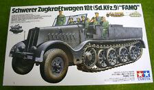 Tamiya German Schwerer Zugkraftwagen 18t(Sd.Kfz.9) FAMO 1/35 Scale 35239