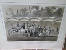 Vintage Print,JAPANESE SOLDIERS,Perry Expedition Japan,1856