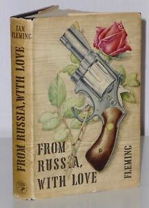 1st Issue Variant [Proof?] From Russia With Love Ian Fleming Cape Sean Connery
