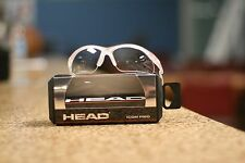 Head RACQUETBALL PROTECTIVE EYEWEAR ICON PRO CLEAR Frame with Black