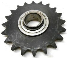 """A PLATE ROLLER CHAIN SPROCKET, 50A20H, CSA205-16 BEARING, 1"""" BORE, MISC BRANDS"""