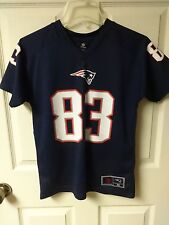 Vintage NFL Wes Welker # 83 New England Patriots Football Jersey Youth M 10/12
