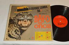 O GRANDE SAMBA DO BAFO DA ONCA Bloco Carnavalesco Volume 3 LP Brazil Mocambo VG+