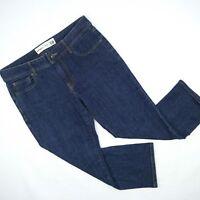 Just Jeans 3 Quarter Length Stretch Denim Jeans Women's Size 10 W31  #173656