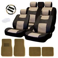 New Semi Custrom Leatherette Car Seat Covers Split Seat Mats Set BT For Mazda