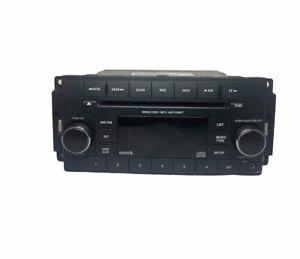 2015-2017 Jeep Wrangler AM FM Radio Single Disc CD MP3 Player 68252823AA EUC