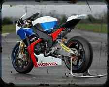 Equipo Honda TT Legends 2 A4 Foto Impresión moto antigua añejada De