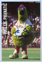 PHILLIE PHANATIC Autographed Signed Photo Card - Philadelphia Phillies Mascot