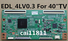 "SONY T-con board EDL_4LV0.3 For 40"" TV LCD Screen LTY400HF09 40inch KDL-40EX720"