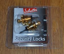 SCHALLER SECURITY LOCKS STRAP OR SC570254 POUR GUITARE  NEUF