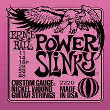 Ernie Ball 2220 Power Slinky .011-.048 Confezione 12 Mute P02220