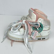 Vintage 80's L.A. Gear High Top Sneakers Women's Size 6 Pink And White