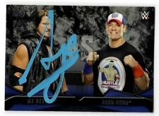 AJ Styles Signed 2016 Topps WWE Rivalries Card #1