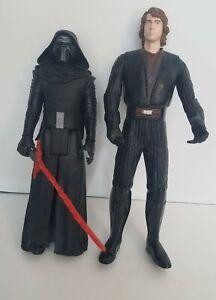 "Hasbro Star Wars The Force Awakens Kylo Ren 12 inch Figure, talking anakin 13"""