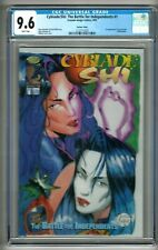 Cyblade/Shi: The Battle for Independents #1 (1995) CGC 9.6  White Pgs. Variant
