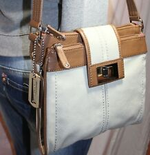 TIGNANELLO Small Medium Canvas Man Made Shoulder Hobo Tote Cross Body Purse Bag