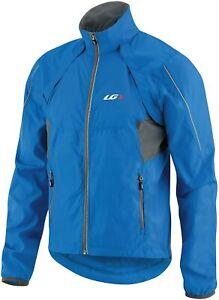Louis Garneau Blue Cabriolet Bike Jacket/Vest Men's Size XS 4310