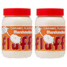 MARSHMALLOW FLUFF CARAMEL  213G x 2 JARS - USA IMPORTED