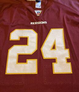Champ Bailey NFL Equipment 1999 2003 SZ 58 Reebok Jersey Washington Redskins VTG