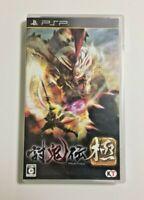USED PSP TOUKIDEN KIWAMI JAPAN Sony PlayStation Portable import Japanese game