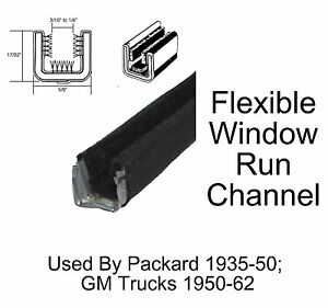 1935 - 1950 Packard Window Run Channel Pair
