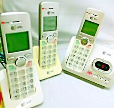 At&t El52303 Cordless Phone with 3 Handsets Caller Id Answering Machine