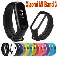 2018 Original Xiaomi Mi band 3 Soft Silicone Wrist Strap WristBand Bracelet