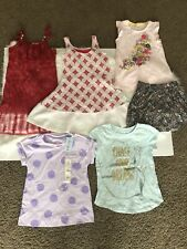 Lot Of Girls Summer Clothes Size 6-7,