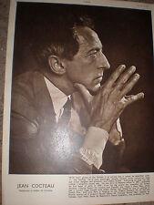 Photo article Jean Cocteau 1949 ref K