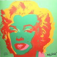 Andy Warhol - Litografia numerata ed. limitata CMOA