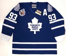 DOUG GILMOUR 1993 TORONTO MAPLE LEAFS CCM AUTHENTIC BLUE JERSEY SIZE 52 RARE