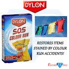 Dylon Sos Colour Run Remover Restore Items Stained Colour Runs 2 X 75ml Sachets