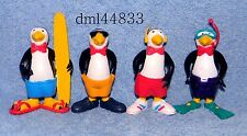 1987 Arby's Polar Swirl Penguins Complete Set - Lot of 4, Boys & Girls, 3+