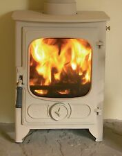 Charnwood Country 4 Almond Woodburning 4.8kw Stove