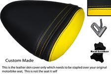 YELLOW & BLACK CUSTOM FITS BUELL 1125 R CR XB 12 R XB 9 R REAR SEAT COVER
