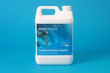 STABILISED CHLORINE GRANULES 5KG - BLUE HORIZONS - Swimming Pool & Spa Chemicals