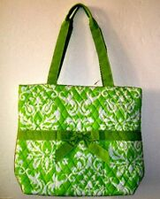 Bright Green Business or Baby Tote NWT