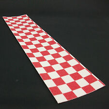 Scooter Grip Tape Check Red White 50 x 11.5 cm