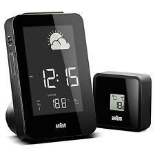 Montre Horloge Braun Clocks Weather Station Clock Bnc013bk-rc