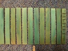 """Vintage 6"""" Lincoln Logs Lot- 12 Roof Slats Great condition"""