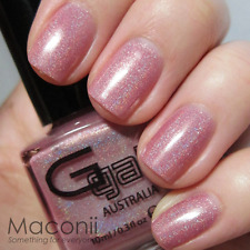 Glitter Gal - Blush - Soft Light Pink Holographic Holo 3D Nail Polish