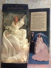 1982 Princess Diana and Prince Charles Goldberger Vintage Royal Wedding Dolls