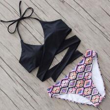 S New Women Bikini Set Push-up Padded Swimsuit Swimwear Triangle Bathing Suit