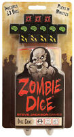 Zombie Dice Game Press Your Luck Family Party Steve Jackson Games SJG 131313