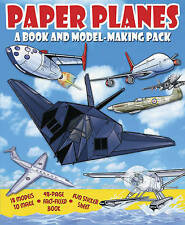 PAPER PLANES - 9 MODELS, 48 PAGE FACT FILLED BOOK & STICKER SHEET