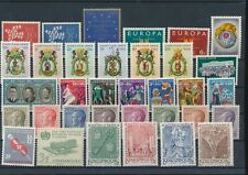 LL97502 Luxembourg mixed thematics fine lot MNH